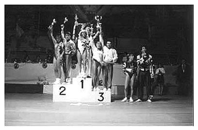 Vainqueur de la Coupe du Monde de Rock acrobatique 1990