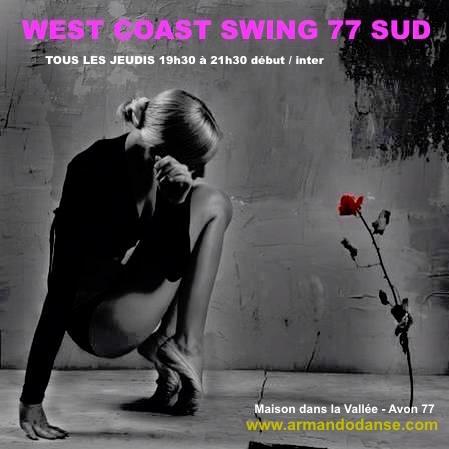 west coast swing cours avec Armando