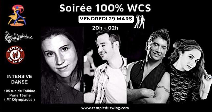 Soirée WCS 29 Mars