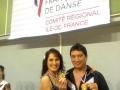 Myriam et Armando, 1er au championnat régional de boogie 2013