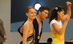 Armando, Delphine et Myriam, 1er au championnat régional 2013