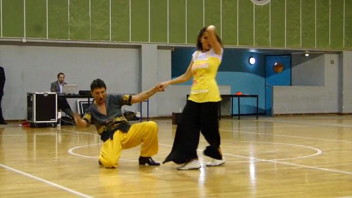 Myriam et Armando - Championnat régional d'Île-de-France de Boogie 2013 à Coubertin