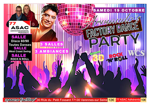 FACTORY Dance Party