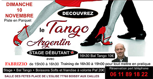 Stage de Tango Argentin