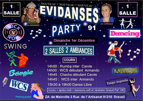 EVIDANSES Party 01/12